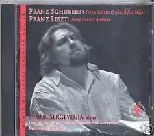 Sonates Liszt , schubert D960 NEUF