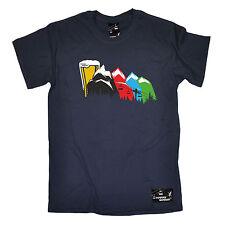 BIRRA da Sci Piste eseguire i livelli da uomo in polvere Monkeez UK T-Shirt Compleanno Sci LIFT