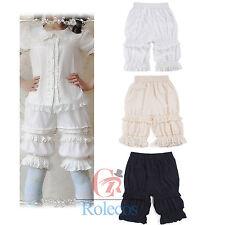 Victorian Lolita Chiffon Bloomer Pantaloons Lace Ruffles Drawers Cabaret Us Ship