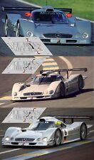 Calcas Mercedes CLR Le Mans 1999 4 5 6 1:32 1:24 1:43 1:18 slot decals