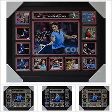 Roger Federer Signed Framed Memorabilia Limited Edition V1 Multiple Variations