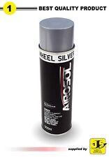 500ml SILVER WHEEL PAINT SPRAY AEROSOL CANS METAL WOOD PLASTIC FURNITURE