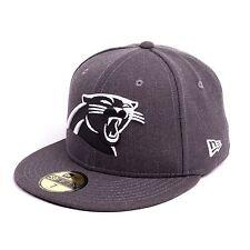 New Era 5950 Carolina Panthers Gorra Ajustada Gorra Gorra, color gris, 93096