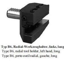 VDI Typ B6 Radial Werkzeughalter,links,lang / radial,left,long