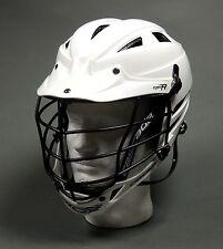 Cascade Cpv-R Mens Lacrosse Helmet White W/Black Cage Adj. (New) Lists for $160