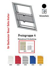 Plissee Dachfenster Verdunkelung für Braas Delta Atelier nach Maß Thermoschutz