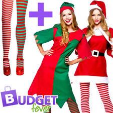 Natale + Collant Donna Costume Natale Festive Inverno Da Donna Adulti Costumi