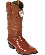Wild West Cognac Genuine Eel Western Cowboy Boot
