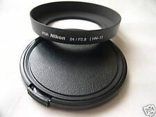 New Metal Screw-In Lens Hood For Nikon HN-1 HN1 w/ Cap