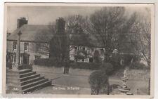 Old Cross - St Davids Real Photo Postcard c1920