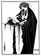Aubrey Beardsley illustrazione di Salomè di Oscar Wilde A3/A2 poster stampa re