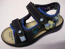 RICOSTA Mädchen Sandalen 25 M Schuhe Blau / Bunt NEU