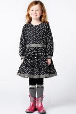 Mim-Pi Kleid Dots schwarz weiß NEU 110 116 122 Reduziert