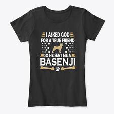 Basenji Dog Lovers True Friend Women's Premium Tee T-Shirt