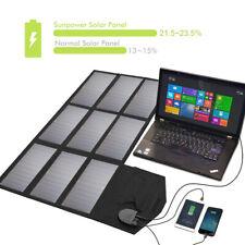 Solarmodule Solarpanel faltbare 18V 60W Sunload Charger USB für iPhone Laptop