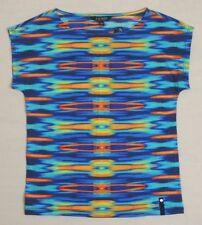 Ralph Lauren Southwestern Indian Aztec Top Cape Sleeves Serape Shirt XXS 2XS M