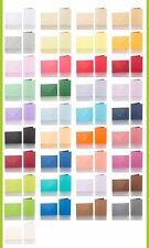 Pack 10 farbige Umschläge 52 x 71 mm nassklebend + farbige Faltkarten 47 x 66 mm