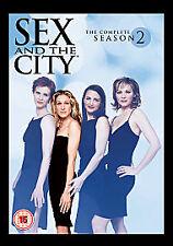 Sex And The City - Series 2 (DVD, 2008, 3-Disc Set, Box Set) season 2