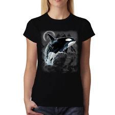 Ballena asesina animales salvajes Mar Camiseta de mujer S-3XL Nuevo