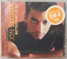 """JON SECADA """"BETTER PART OF ME"""" cd sealed"""