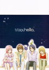 Gundam Seed Destiny doujinshi Athrun x Cagalli Kira x Lacus stay, hello harunoie