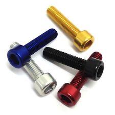 M5 Aluminium Socket Cap Screws - Allen Key Bolts Hex Head - Anodised Unanodised