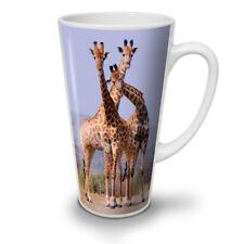 Giraffa Africa Animali Nuovo White Tea Tazza Da Caffè Latte Macchiato 12 17 OZ (ca. 481.93 g) | wellcoda