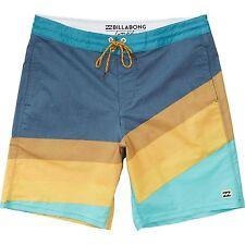 Billabong Men Slice Lo Tides Boardshorts Swimwear Sz 32 M108ESLL