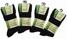 6 Pairs  Mens Bamboo Loose Top Socks Super Soft Non elastic Anti Bacterial Socks
