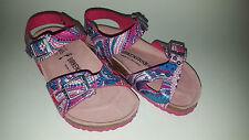 Birkenstock Birko-Flor Rio $129rrp Mosaic Pink BNIB Kids Size 26 Narrow
