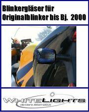 clignotant noir Honda CBR 600 F 900 1100 XX VTR 1000 Fumé VERRE DE SIGNAL