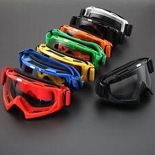 Clear Lens Motocross Off Road ATV Sunglasses Motorcycle Glasses Helmet Goggles