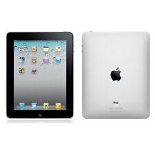 Apple iPad 1. Generation Wi-Fi 64GB, (9,7 Zoll) - Schwarz Sehr Guter Zustand