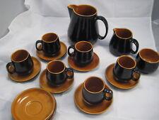 19 Vintage Prinknash Ceramic Dinnerware Tea  Coffee Set England Rare