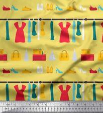 Soimoi Tissu chaussures, sac à main et robes femmes impressions  MTR-WM-516J