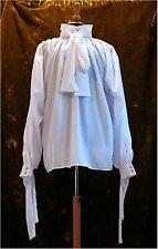 Darcy Cravat Shirt Goth Dandy Victorian Steampunk GOT cosplay LOTR NEW Pirate
