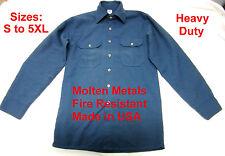 USA MADE!!! Oasis Tencate Fire Resistant Shirt Welding Blacksmith Foundry FR