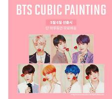 [BTS] - BTS DIY CUBIC PAINTING Official Goods