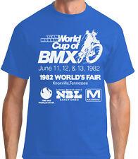 Old School BMX T-shirt Team Murray World's Fair vintage X20 X24 sticker bicycle