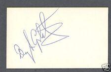 Bengt Gustafsson signed hockey index card