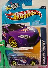 Case  E/F 2012 Hot Wheels MEGANE TROPHY #122∞PURPLE∞All STars∞