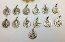 The Patron Saints - 925 Sterling Silver Medals - Find Your Favorite Saint