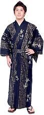 Japanese Kimono Men's Casual Cotton Yukata Robe Hideyoshi #889 Samurai Gown Gift