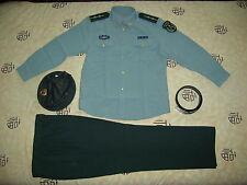 Obsolete 07's China PLA Army Man Officer Summer Long-sleeved Uniform,Set,B
