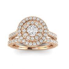 1.00ctw Diamond Bridal Set in 10k Rose Gold