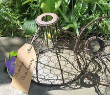 Small chicken wire pendant shade
