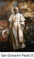 ADESIVO STICKER SANTINO HOLY CARD SAN GIOVANNI PAOLO II