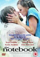 The Notebook- RYAN GOSLING RACHEL MCADAMS - ROMANTIC DVD - USED EX COND