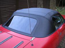 MAZDA MX5 Mk1 Eunos Miata Noir PVC Vinyle Voiture capuche soft top