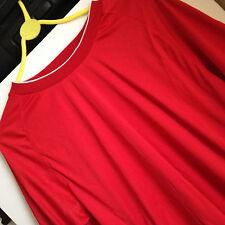 NUOVO T-shirt uomo maglia manica corta Sacco a pelo da corsa palestra